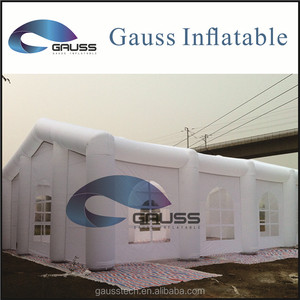 Inflatable large portable house for living/Inflatable white event tent