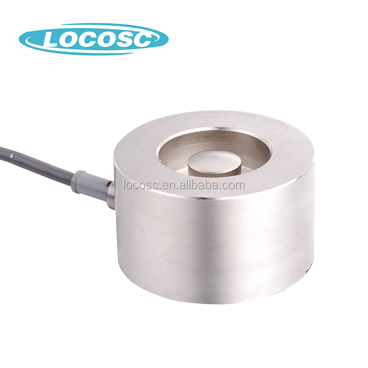 Strain Gage In A Load Cell 200T Waterproof Washer Load Cell,2000Kg Load Cells Sensor