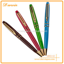 Yiwu Pen Promotional Products Office Stationery Items Names Metal Twist Ballpoint Wallet Pen