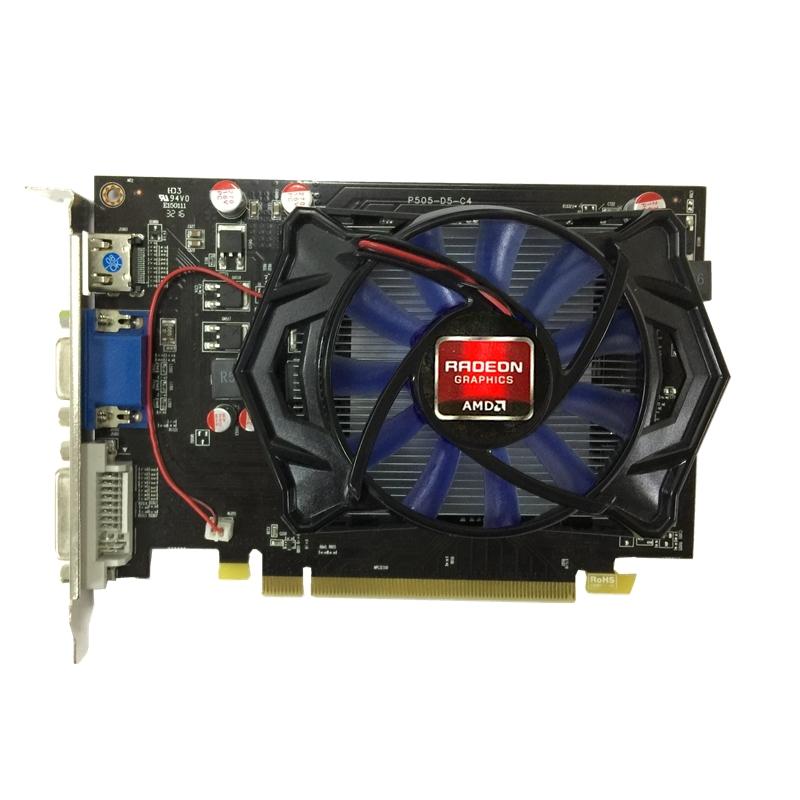 AMD HD7670 DDR5 128Bit 4GB Gaming Graphic Card фото