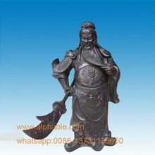Offre Spéciale Laiton <span class=keywords><strong>Guanyu</strong></span> Guan Gong sculpture