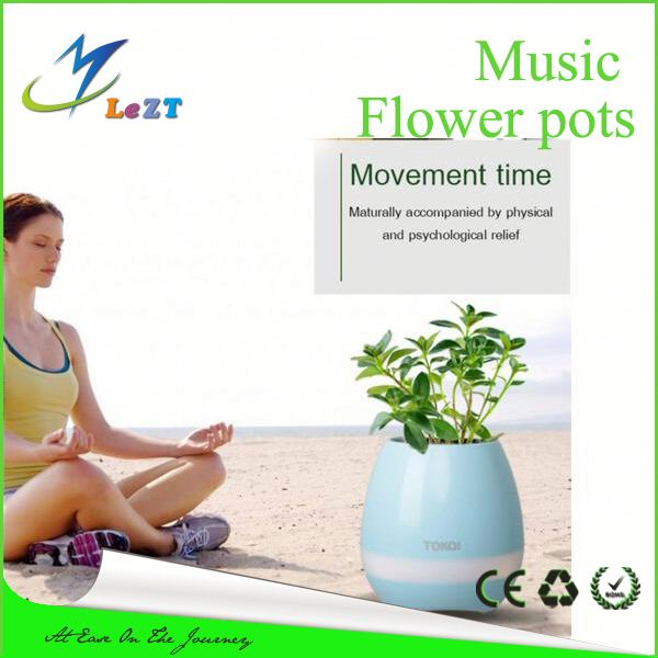 2017 Hot Sky Planter Upside Down Indoor Plant Pots plastic music flower pot