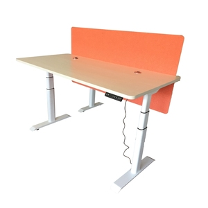 Furniture Parts Electric Height Adjustable Table Frame leg Funky ergonomic sit stand body Executive desk for office