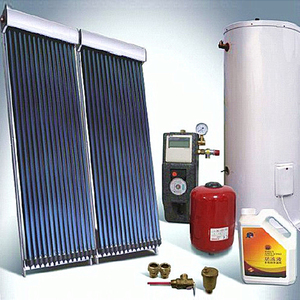 China Supplier 200l mini portable split pressure silver solar water heater bangalore Pressurized Split Solar Water Heaters