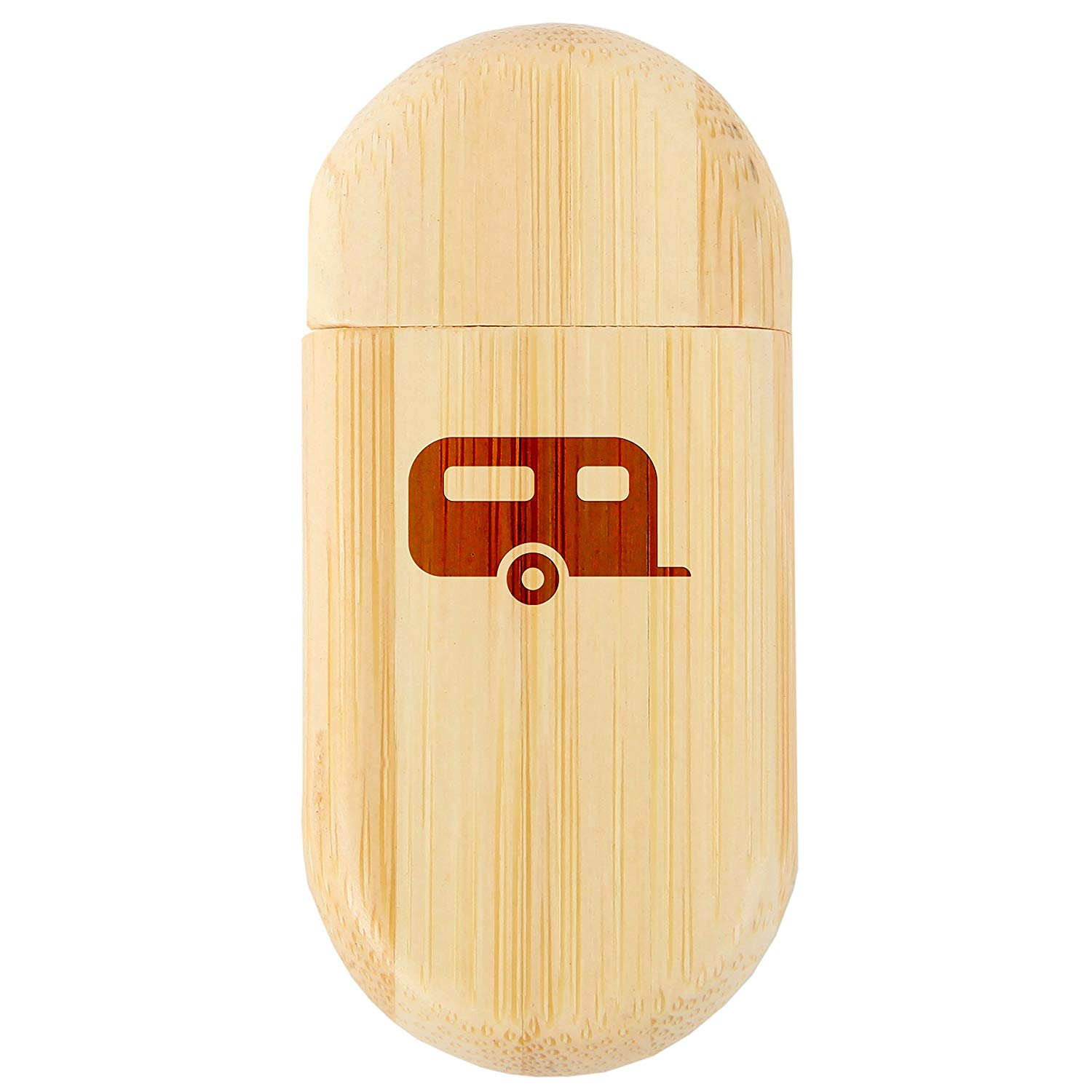 8Gb USB Gift for All Occasions Tennis 8Gb Bamboo USB Flash Drive with Rounded Corners Wood Flash Drive with Laser Engraving