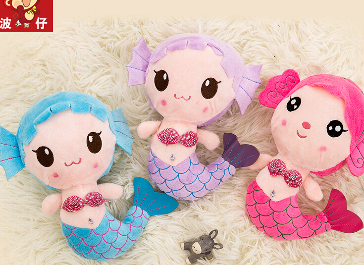 Top Mermaid Plush Toy Doll Wedding Toys Gifts Accessories Wholesale