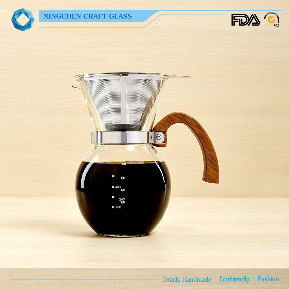 Japanese style slow drip <strong>coffee</strong> with stainless steel filter high borosilicate handmade brew <strong>coffee</strong> maker