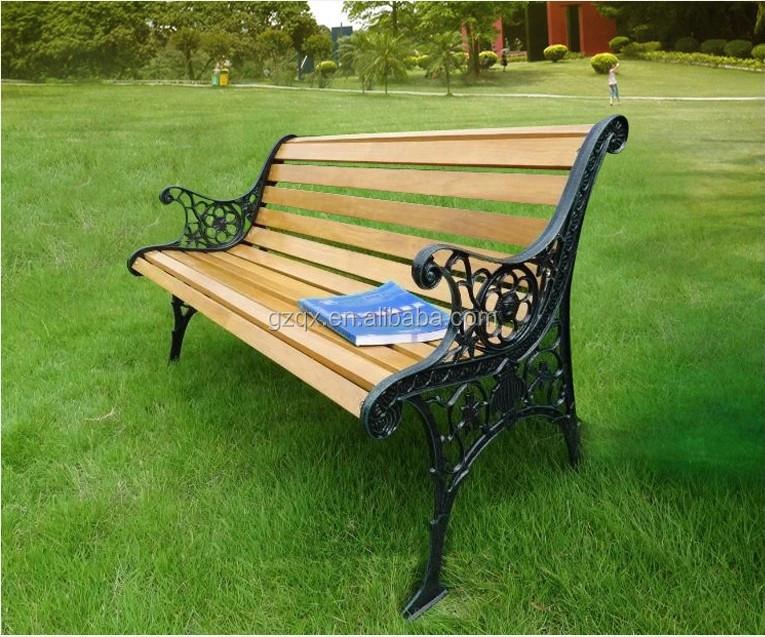 Indoor Wooden Bench Hardwood Garden Bench Wooden Garden Chair QX 146E