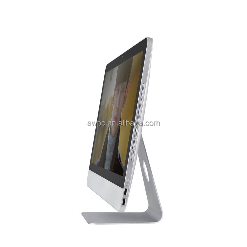 ultra thin led all in one desktop computer 18.5 inch