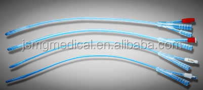Medical surgery silicone foley catheter 3 way / 2 way