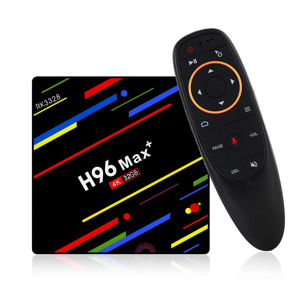 Nieuwste H96 Max plus tv box 4 gb DDR3 32 gb 64 gb eMMC RK3228 Android 8.1 set top box h96 max plus tv box