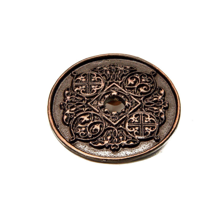 Carpe Diem Hardware Carpe Diem 309-22 Millennium Oil Rub Bronze Small round escutcheon Oil Rub Bronze