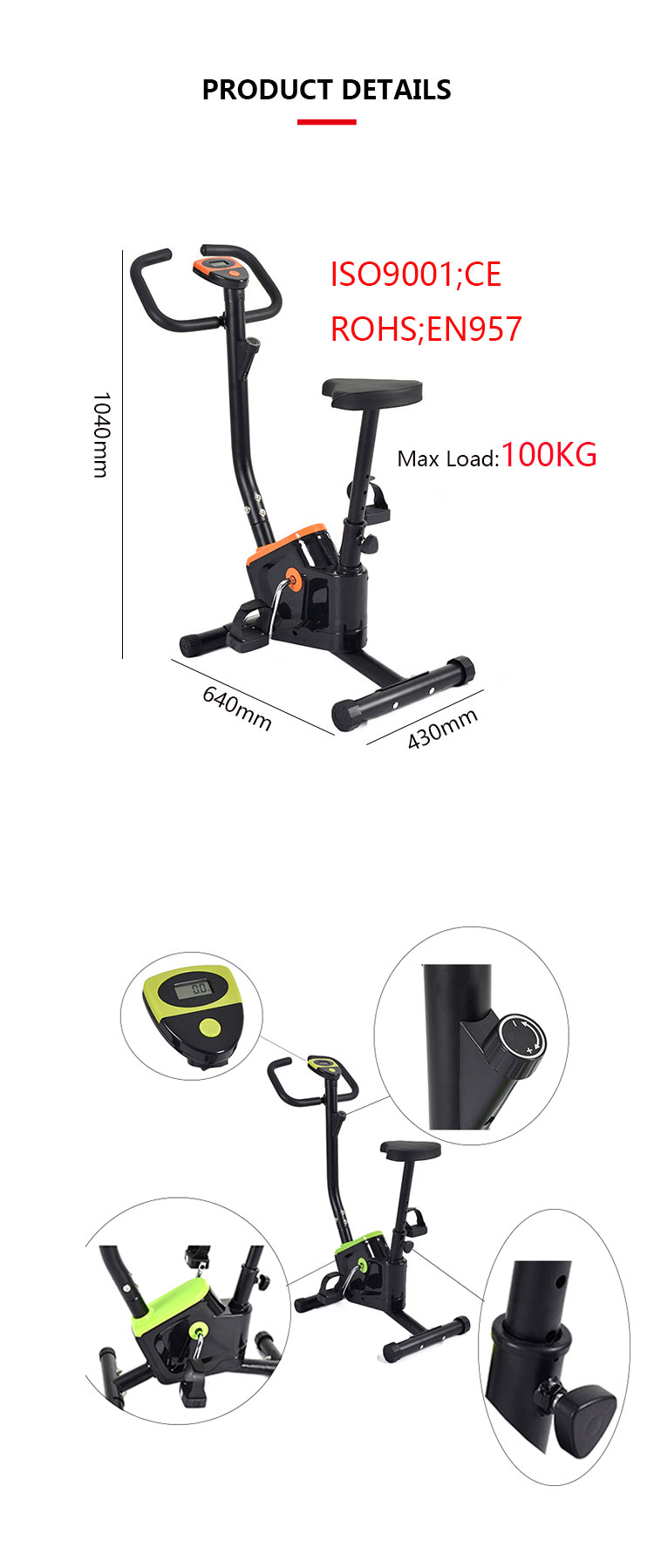 9c53abe30d9 Best Home Exercise Bike Wholesale Indoor Electric Mini Cycle