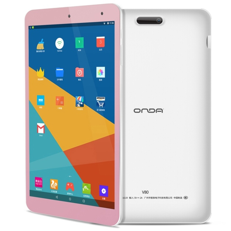 ONDA V80 <strong>Tablet</strong> Basic Edition 8 inch Android 7.0 Support 128GB TF Card WiFi 2GB RAM 16GB ROM <strong>Tablet</strong> pc