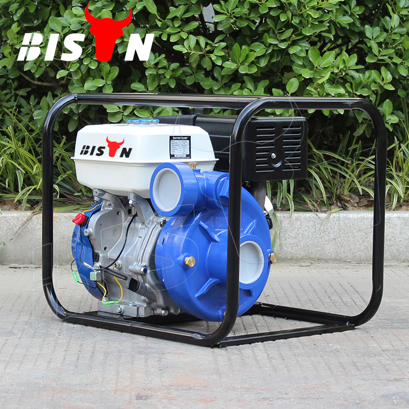 BISON(CHINA) BS30I 3 Inch 208mm Small Portable Gasoline High Pressure Firefighting Water Pump