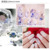 2017 newstyle 12 Styles Imported Fantasy Blue Sequins nail art decoration