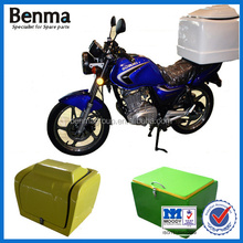 Fiberglass Pizza Delivery Top Box For Motorcycle