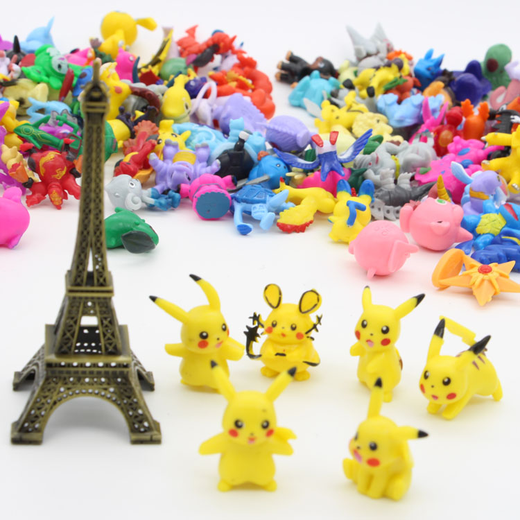 Hot Selling 144 Series Of Mini Pokemon Toys Pokemon Figure Toys Pokemon For Kids