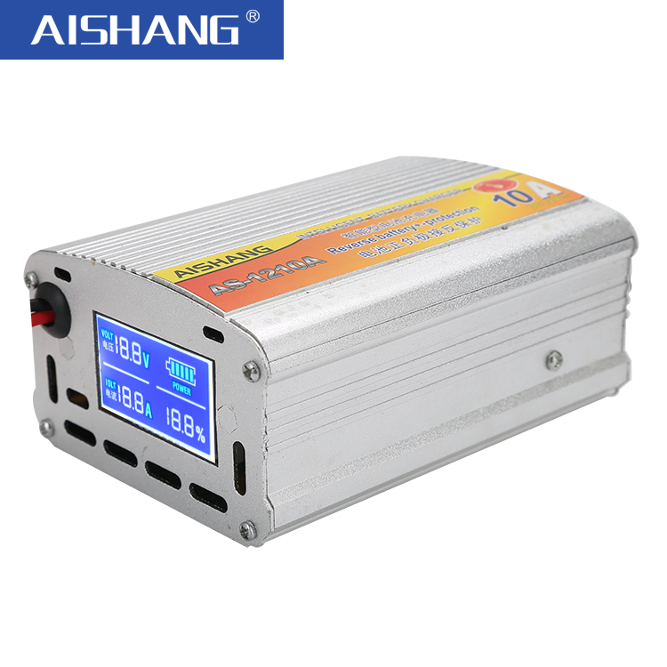 LCD Display Three Phase 12 volt 10A/20A/30A Intelligent Auto Lead Acid Battery Charger