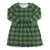 New design princess kid cloth fall cloths army green lattice dresses for girls