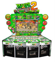 Entertainment coin operated plants vs zombies 3d shooting game machine