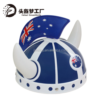 Flag Hat Football Cheer Team Helmet Crazy Hat Ideas Buy Crazy