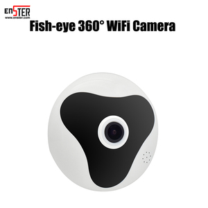HD 1.3MP WiFi Panoramic Camera 360 Degree Fisheye lens Network IP CCTV Camera Video TF card Storage Remote IR-CUT Audio-in