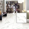 foshan factory inkjet polished glazed white tile floor ceramic tiles