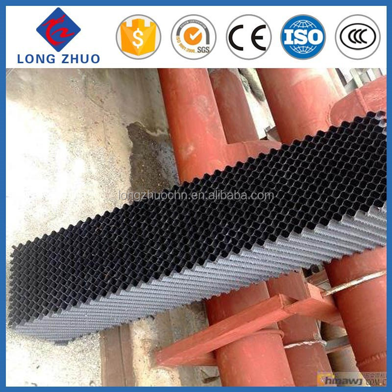 300 width and any length square cooling tower fill/15mm wave height fill pack