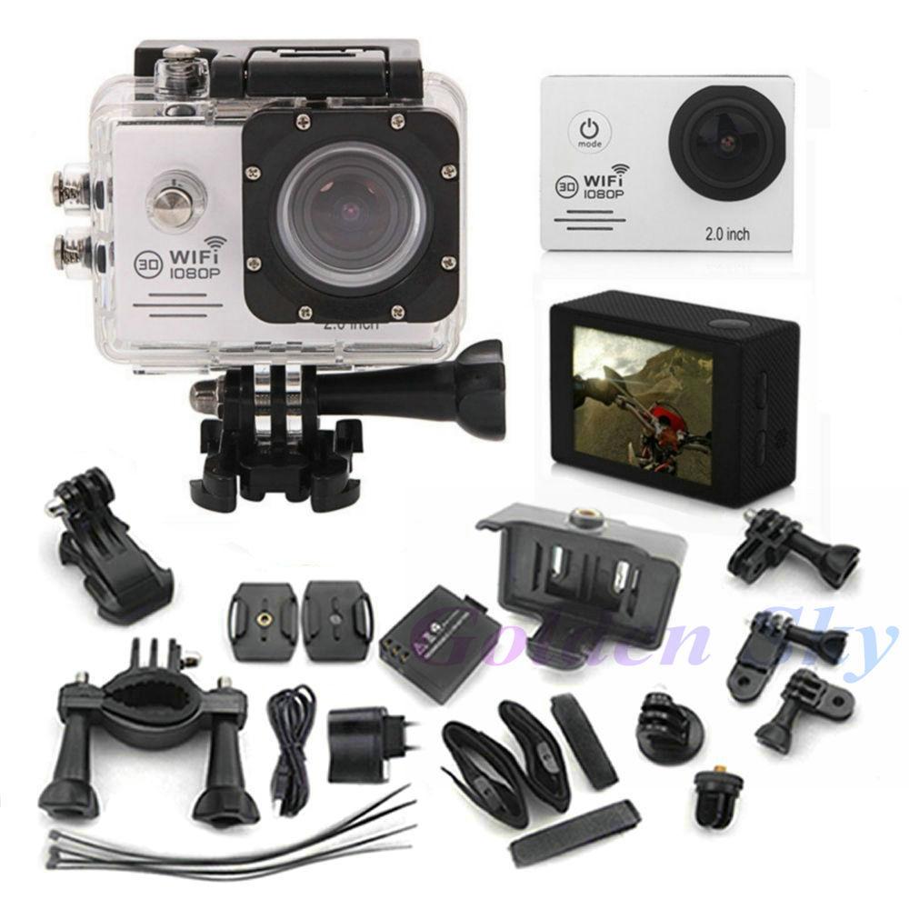 Action Camera SJ7000 Wifi 2.0 LTPS LED Sports extreme mini cam recorder marine diving 1080P HD DV like go pro Hero 4 style