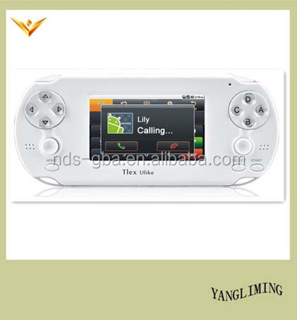 Rechargeable battery for Android Tlex Ulike with WIFI PSP,PS1 portable game console handheld