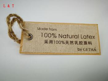 Fabric Clothes Shape Hang Tag For Garment