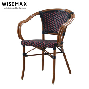 All Weather hight quality outdoor furniture bistro chairs rattan chair for sale