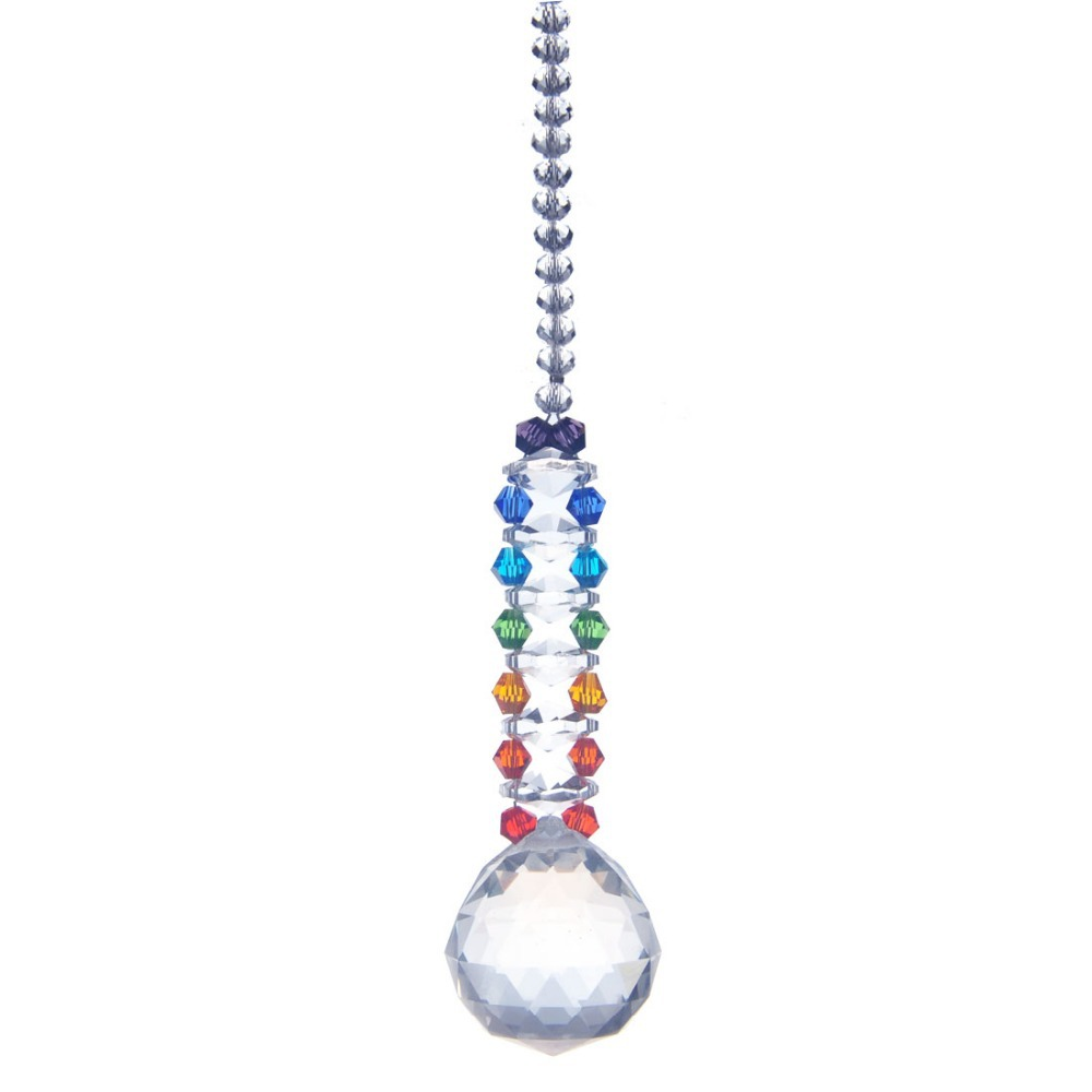 Crystal Chandelier Accessories: 30mm Colorful Lighting Ball Accessories Pendants Home