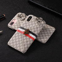 2018 New design Wholesale Fashion Creative Case For iPhone 6 plus PU Leather Phone Case Back Cover for iphone 6 case
