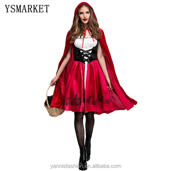 halloween costumes for women sexy cosplay little red riding hood fantasy game uniforms fancy dress outfit EPS9013