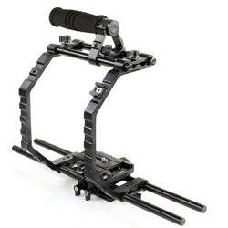 "PROAIM Muffle Lark 3/"" Aluminum Monitor Arm MA-100-00 Multipurpose Adjustable Accessory Arm for DSLR Camera Rig//LCD Monitor//LED Video Light//Audio Recorder//Flash Light//Cage//Tripod"