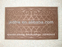Goma puerta Mat Anti Slip Fashion Room