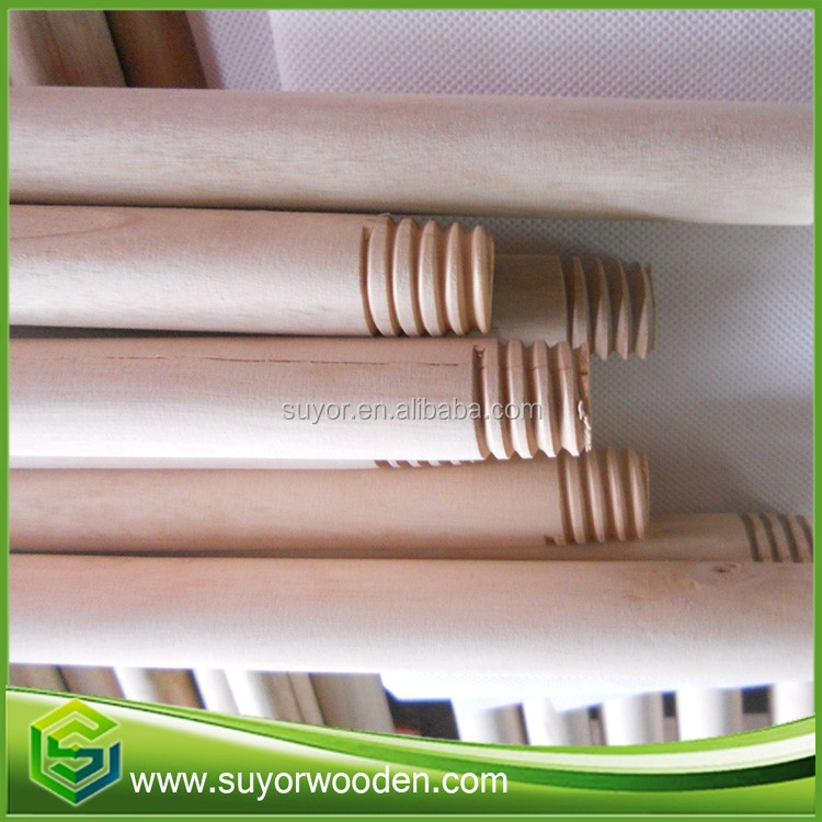 Wood mop cleaning natural broom handles wholesale