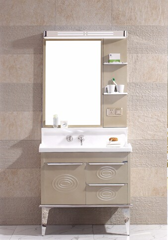 Attirant European Modern Stainless Steel 36 Bathroom Vanity Combo In Lahore Pakistan