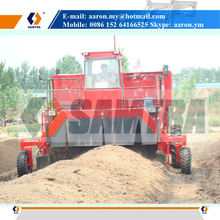 Self-propelled Compost Turner, Hydraulic Driven Composting Machine