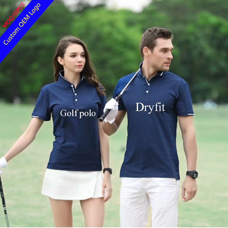 GuangZhou Wholesale Dryfit Golf Polo shirt mixed sizes mixed colors High quality Custom printed polo shirt