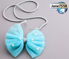 The new gauze bow/clothing accessories/children's necklace/accessories