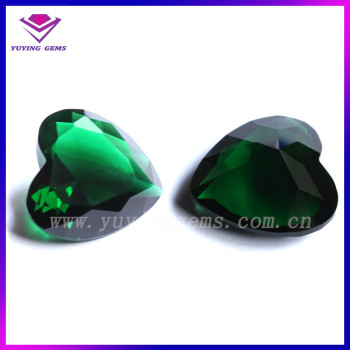 heart auctions emerald shaped gemstone