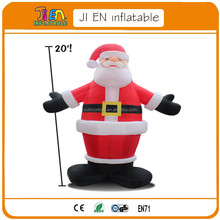 advrtising inflatable christmas old man,black giant inflatable santa claus
