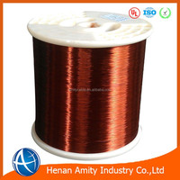 Cost price UL certificate class 200 polyester or polyester-imide overcoated polyamide-imide 1mm enameled copper wire