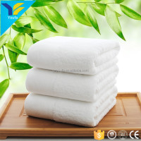China wholesale gift plain white terry towels bath set luxury hotel 100% cotton bath towel