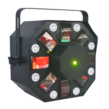 China <span class=keywords><strong>leverancier</strong></span> night club disco mini beam strobe laser 3in1 gecombineerd led stage dj verlichting apparatuur