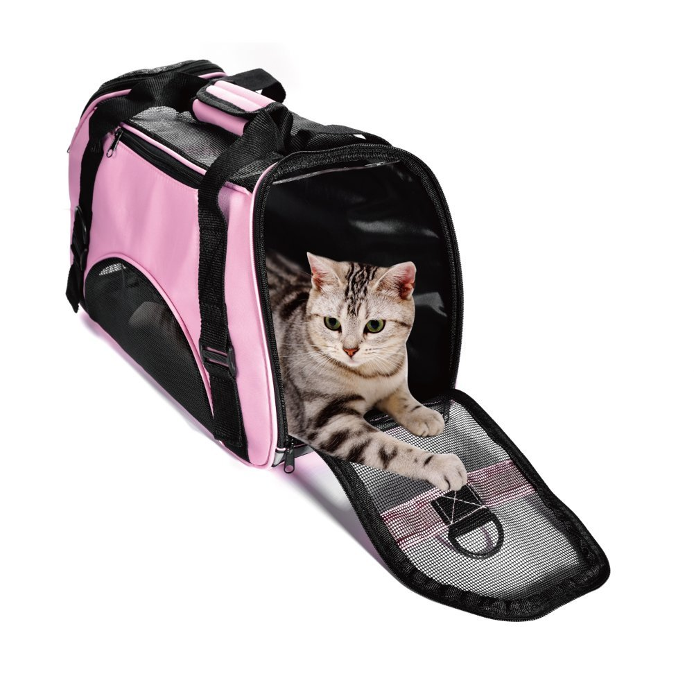 Pet Carrier Dog Cat Soft sidede Airline Approved Small Puppy Travel Bag