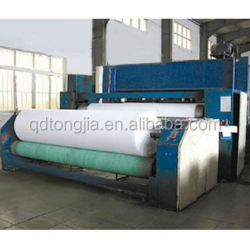 2015 Latest design polyester fiber wadding production line